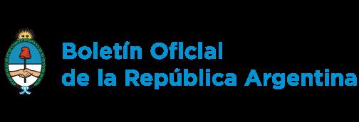 Boletín Oficial República Logo